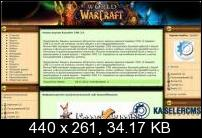 World of Warcraft шаблон для kasseler-cms 2.0